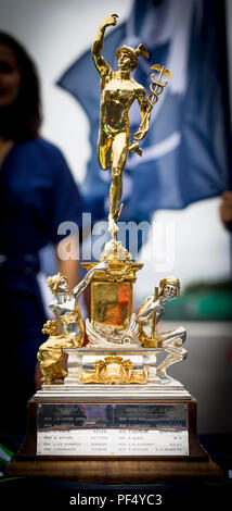 Silverstone Circuit, UK. 19th Aug, 2018. FIA World Endurance Championship; The Royal Automobile Clubs Tourist Trophy on the Silverstone track before the Round 3 of 6 Hours of Silverstone Credit: Action Plus Sports/Alamy Live News - Stock Photo