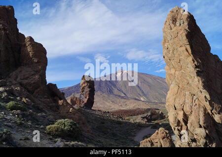 teide - Teneriffe - Canary Islands - Spain - Stock Photo