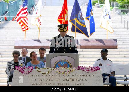 HONOLULU, Hawaii (Aug  15, 2018) – The Commanding General of Pacific
