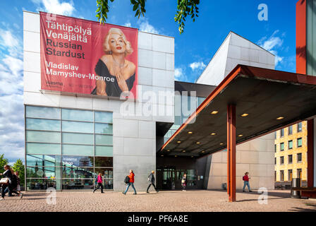 The Museum of Contemporary Art Kiasma and the Helsinki Sanomat Stock Photo: 51403121 - Alamy