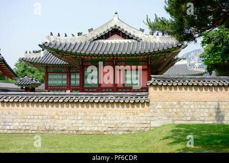 Deoksugung Palace, Seoul, South Korea. - Stock Photo