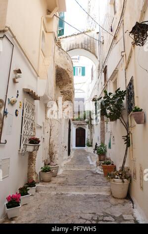 Streets of the village of Sperlonga, Italy  Sperlonga is a coastal