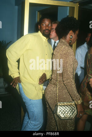 HOLLYWOOD, CA - JUNE 28: Actor Denzel Washington attends Paramount Pictures Premiere of 'Boomerang' on June 28, 1992 at Mann's Chinese Theatre in Hollywood, California. Photo by Barry King/Alamy Stock Photo - Stock Photo