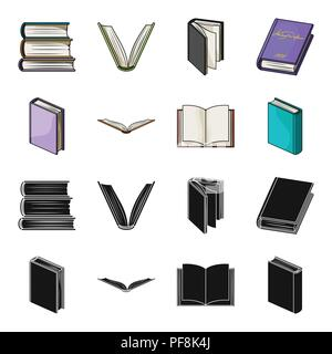 Various kinds of books. Books set collection icons in black,cartoon style vector symbol stock illustration . - Stock Photo
