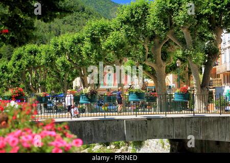 Puget Theniers, Var valley, Alpes Maritimes, 06, PACA, France - Stock Photo