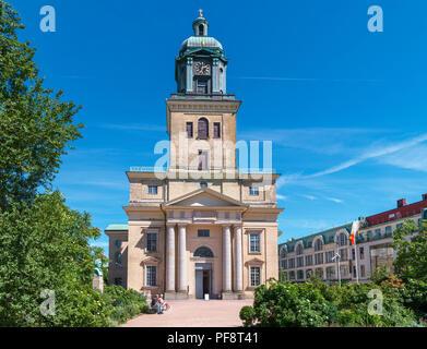 Gothenburg Cathedral (Gustavi domkyrka),  Göteborg, Sweden - Stock Photo