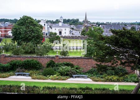 Antrim Castle Gardens - Stock Photo
