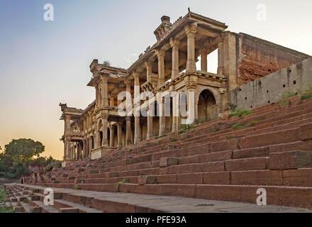 Ahmedabad , Gujarat , India, December 08,2014 Full View Of Sarkhej Roza - Stock Photo