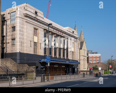 The O2 Forum in Kentish Town, London, England a popular music venue and former cinema. - Stock Photo