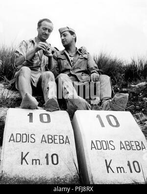 david niven, alberto sordi, in the best of enemies, 1961 - Stock Photo