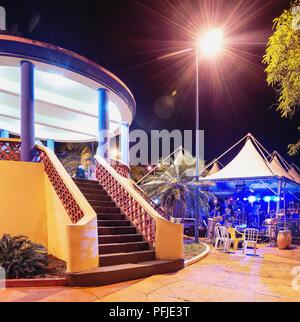 Bandstand of the city of Campo Grande - MS, Brazil. Known as Coreto da Praca Cuiaba. - Stock Photo