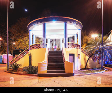 Bandstand of the city of Campo Grande - MS, Brazil. Known as Coreto da Praca Cuiaba. - Stock Photo