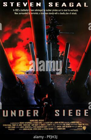 Original Film Title: UNDER SIEGE.  English Title: UNDER SIEGE.  Film Director: ANDREW DAVIS.  Year: 1992. Credit: WB/REGENCY ENTERPRISES V.O.F./CANAL + / Album - Stock Photo