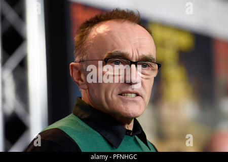 Berlin, Germany. 10th Feb, 2017. Danny Boyle during the 'T2 Trainspotting' press conference at the 67th Berlin International Film Festival/Berlinale 2017 on February 10, 2017 in Berlin, Germany. | usage worldwide Credit: dpa/Alamy Live News - Stock Photo