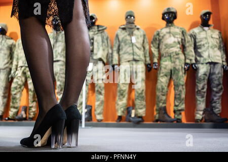 Russia. 22nd Aug, 2018. MOSCOW REGION, RUSSIA - AUGUST 22, 2018: Inside Patriot Park hosting the Army 2018 International Military and Technical Forum. Sergei Bobylev/TASS Credit: ITAR-TASS News Agency/Alamy Live News - Stock Photo