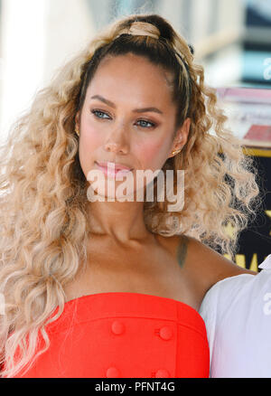 Los Angeles, California, USA. 22nd August, 2018. Leona Lewis attend the ceremony honoring Simon Cowell with a Star on The Hollywood Walk of Fame held on August 22, 2018 in Hollywood, California Credit: Tsuni / USA/Alamy Live News - Stock Photo