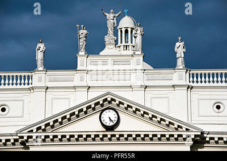 Sri Lanka, Western Province, Colombo, St. Lucia's Cathedral - Stock Photo