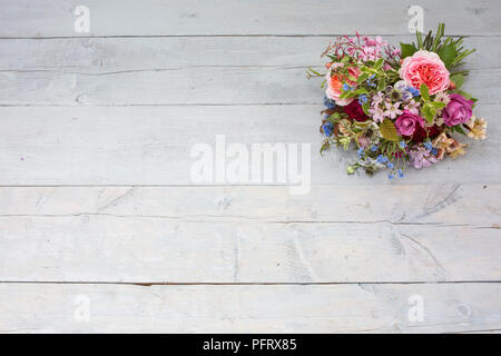 Hand-tied bouquet - Stock Photo