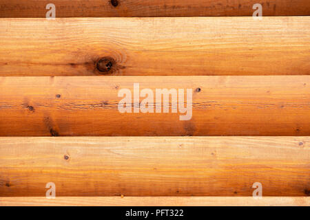 Natural wooden surface, texture. Rustic wooden horizontal brown wood planks with cracks, scratches, twigs, modern design, background, copy space - Stock Photo