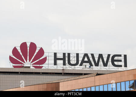 Office Of Chinese Mobile Phone Huawei Technologies Corporation