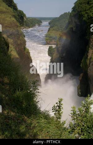 Murchison Falls, River Nile, Uganda - Stock Photo