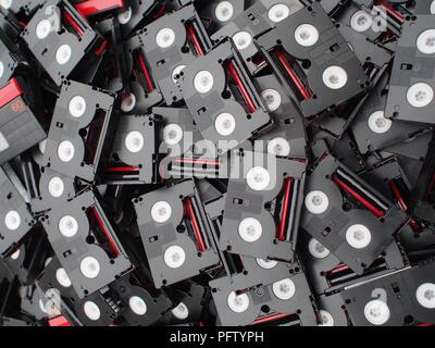 Mini DV Tapes - Stock Photo