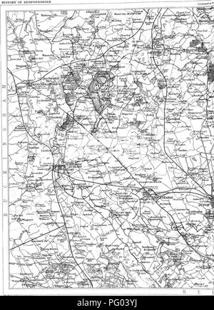 . The Victoria history of the county of Bedford. Natural history. TOPOGRAPHICAL HISTORY OF BEDFORDSHIRE. Hie lajnbmgli Gnngn^lnBiil TiuitJ*o±*- ScslLo 2 ^filiiB tn an lucli Main DriTiag Konds g THE VICTORIA HISTORY OF. Please note that these images are extracted from scanned page images that may have been digitally enhanced for readability - coloration and appearance of these illustrations may not perfectly resemble the original work.. Page, William, 1861-1934, ed; Doubleday, H. Arthur (Herbert Arthur), 1867-1941. Westminster [A. Constable] - Stock Photo