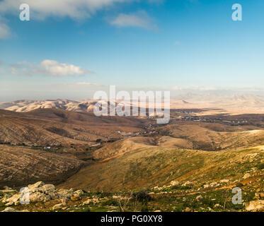 Hills in Betancuria, Fuerteventura, Canary Islands, Spain. - Stock Photo