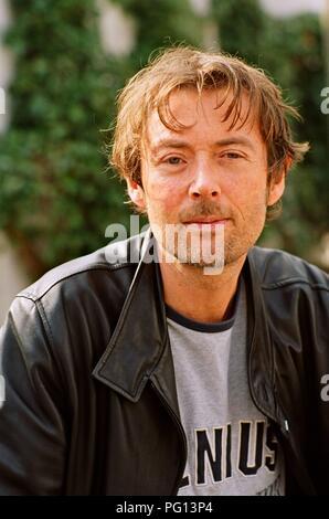DBC Pierre (Peter Warren Finlay) - Australian writer. - Stock Photo