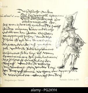 Image  from page 197 of 'Die Klingenberger Chronik [attributed to J. von Klingenberger, U. von Klingenberg and others], wie sie Schodoler, Tschudi, Stumpf, Guilliman und andere benützten ... zum erstenmal ganz ... herau0001. - Stock Photo