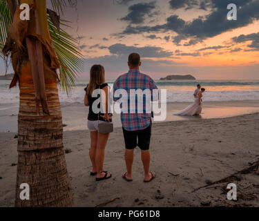 Beach, Corcovado National Park, Osa Peninsula, Costa Rica. - Stock Photo