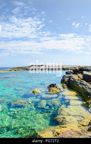 Malta Beach front  Valletta City Malta Seascape - Stock Photo