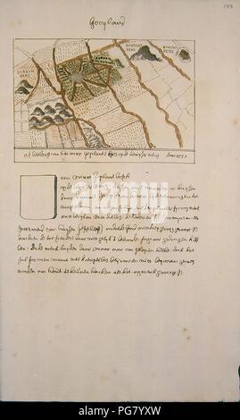 Atlas Schoemaker-WESTFRIESLAND-DEEL2-365-Noord-Holland, Het Gooi. - Stock Photo