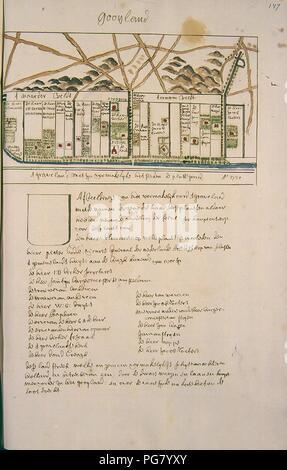 Atlas Schoemaker-WESTFRIESLAND-DEEL2-368-Noord-Holland, Het Gooi. - Stock Photo