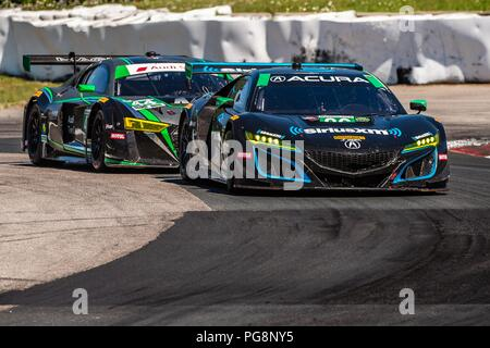 Bowmanville, CAN., 08 Jul 2018. 8th July, 2018. on 08 of July, 2018 at Canadian Tire Motorsport Park during the Mobil 1 SportsCar Grand Prix weekend. Credit: Victor Biro/ZUMA Wire/Alamy Live News - Stock Photo