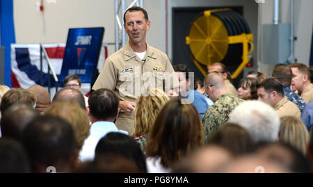 SAN DIEGO (Aug  22, 2018) Chief of Naval Operations Adm