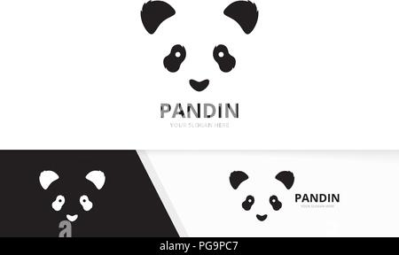 Panda Icon Stock Vector Art Illustration Vector Image 63581338