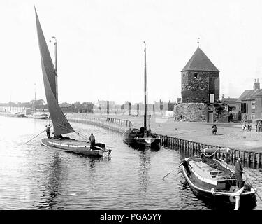 Great Yarmouth, Victorian period - Stock Photo