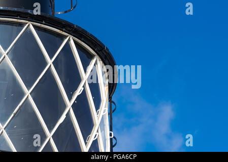 Trinity Buoy Wharf Lighthouse, London - Stock Photo