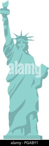 statue liberty sculpture history design - Stock Photo