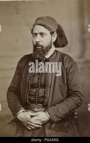 Auguste Osbert. Rabbin Mardokhai Abi Serour (btv1b8450944q). - Stock Photo