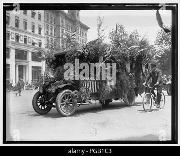 Auto Trade Assoc Parade Wash D C June 28 1919 Stock Photo