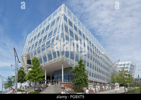 Unilever House, HafenCity (Harbour City), Hamburg, Germany - Stock Photo