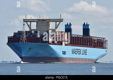 Manchester Maersk - Stock Photo
