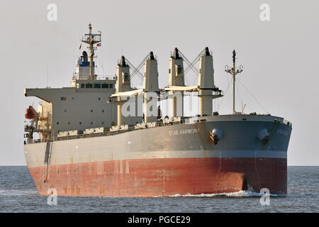 Bulk-Carrier Star Harmony - Stock Photo