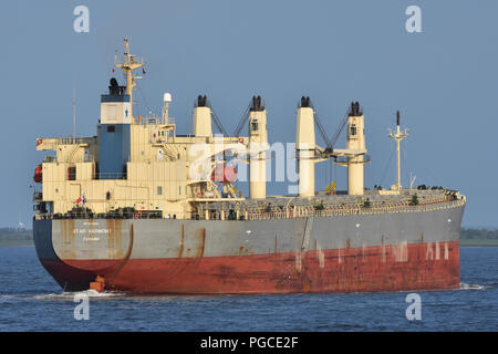 Bulk-Carrier Star Harmony - Stock Photo