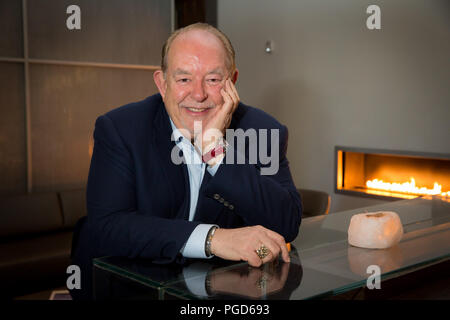 Las Vegas, NV, USA. 15th Feb, 2013. Robin Leach Photographed at Guy Savoy at Caesars Palace in Las vegas, NV on February 15, 2013. Credit: Erik Kabik Photography/Media Punch/Alamy Live News - Stock Photo