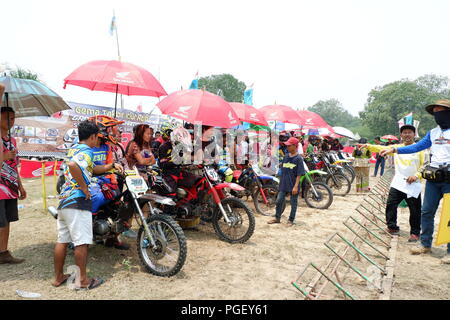 Amateur Motocross Racing - Stock Photo