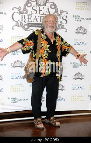 Arrivals at the 'Sea Creatures' exhibition at the Royal Horticultural Halls in London.  Featuring: Bill Oddie Where: London, United Kingdom When: 26 Jul 2018 Credit: WENN.com - Stock Photo