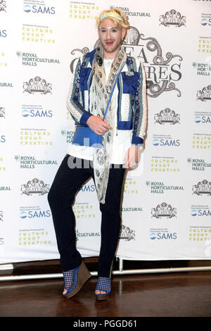 Arrivals at the 'Sea Creatures' exhibition at the Royal Horticultural Halls in London.  Featuring: Lewis-Duncan Weedon Where: London, United Kingdom When: 26 Jul 2018 Credit: WENN.com - Stock Photo